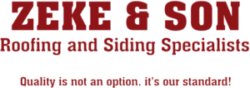 Zeke & Son Roofing & Siding Specialists Logo